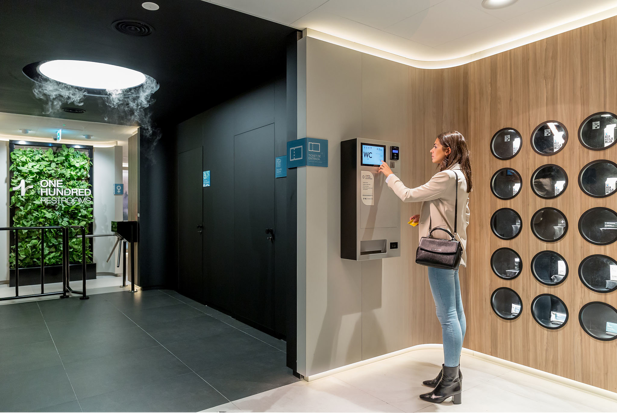 One Hundred restrooms: the new standard in public toilets