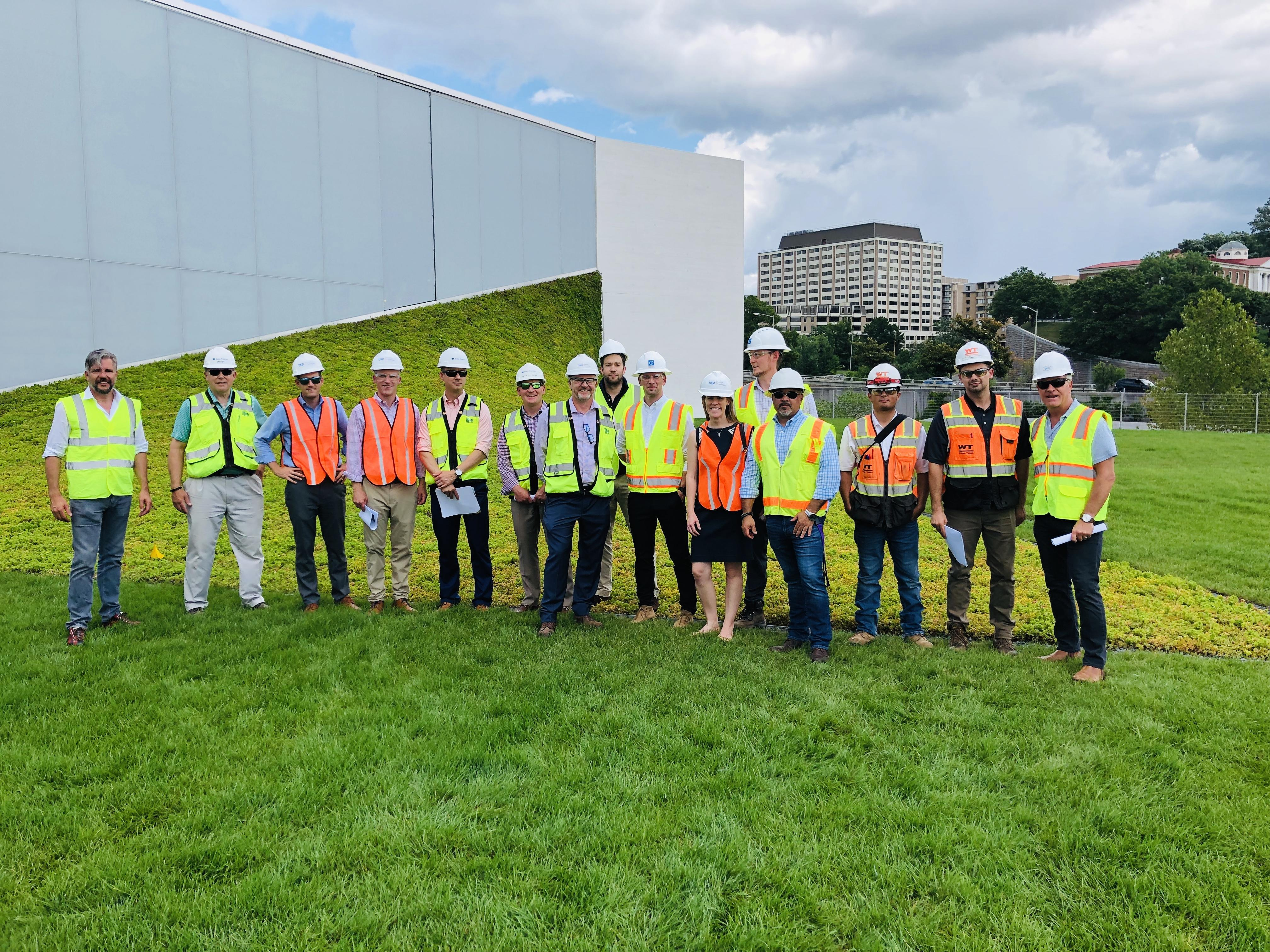 This week, Sempergreen hosted a successful tour for Boston Properties