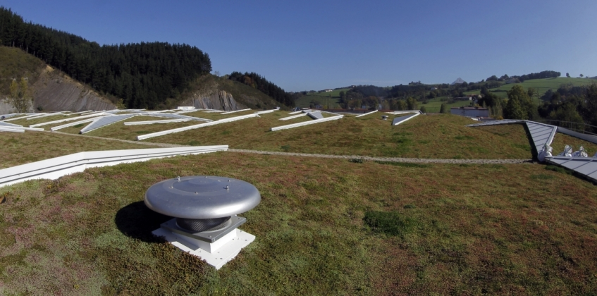 Green Roof Ampo Headquarters Spain Sempergreen