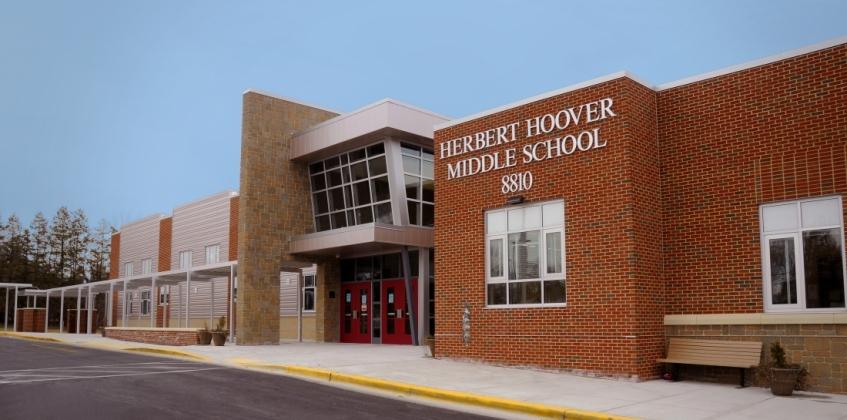 Herbert Hoover Middle School Met Groendak Sempergreen